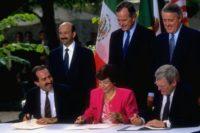 Nafta Mulroney Bush Mexico 2